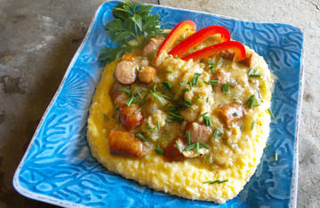 Try substituting catfish for shrimp in this classic southern recipe.