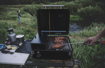 The new Ranger is perfect for packing into camp. Photo:Traeger Grills