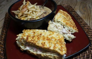 Try this hot brown spread as either a hot or cold sandwich.