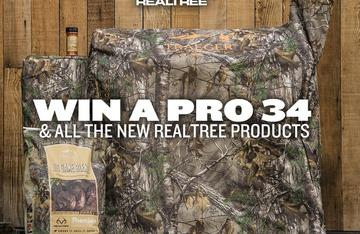 Enter to win this Traeger Pro 34 Pellet Grill and nifty Realtree accessories.