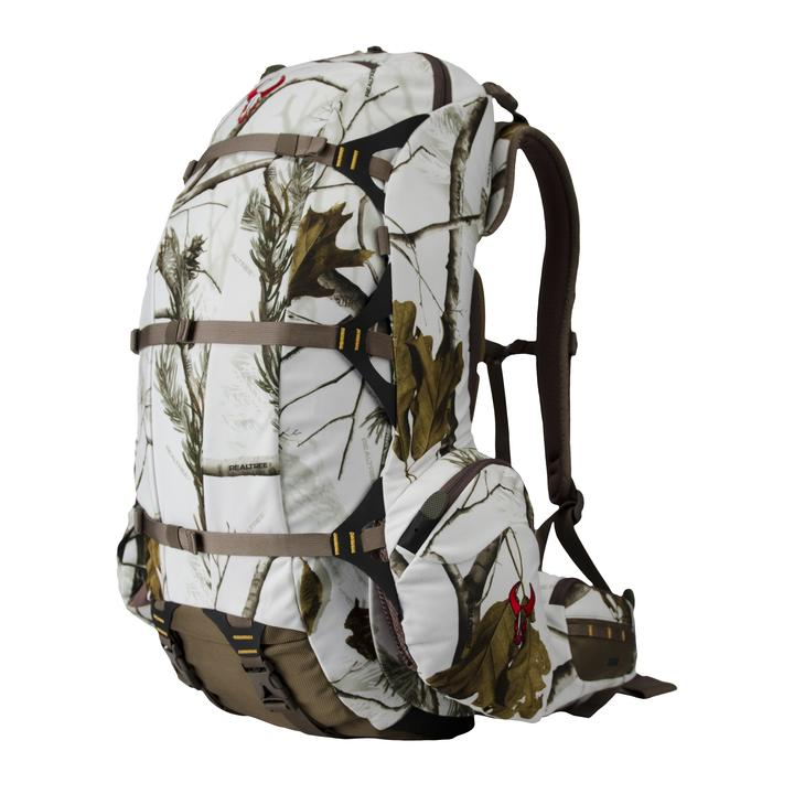 Badlands packs in realtree ap snow for limited time realtree for Ap fishing backpack
