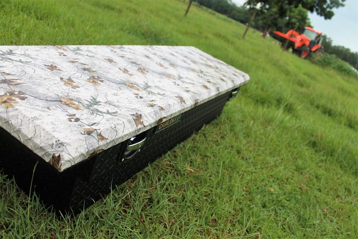 Camlocker Truck Bed Toolboxes in a Variety of Realtree Camo Patterns