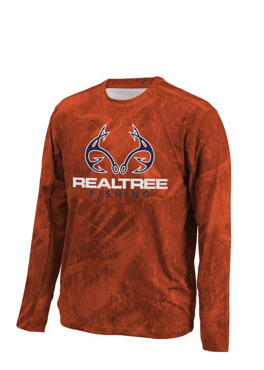 Realtree Men's Fishing Performance Long Sleeve Shirt