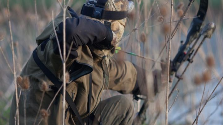 Pierre Lacombe Bowhunting Myocaster In Southern France.  Preview Image