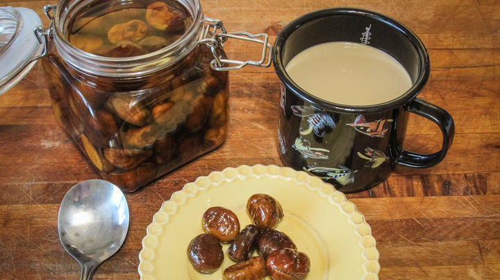 Candied Bourbon Chestnuts in Syrup Preview Image