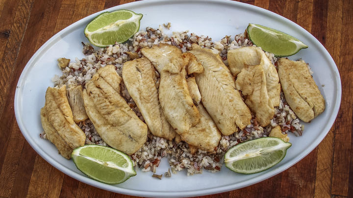 Sweet Chili Lime Traeger Grilled Crappie Recipe Preview Image