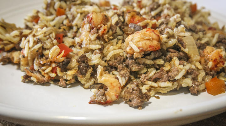 Crawfish and Venison Rice Dressing Preview Image