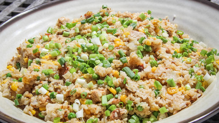 Wild Turkey Restaurant Style Fried Rice Recipe Preview Image