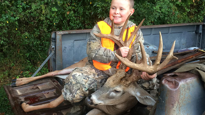 Mason Bennett's Giant Youth Weekend Buck Preview Image