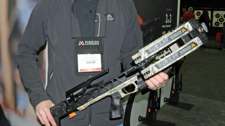 2019 ATA Show: Mission Crossbows in Realtree EDGE Camo Preview Image