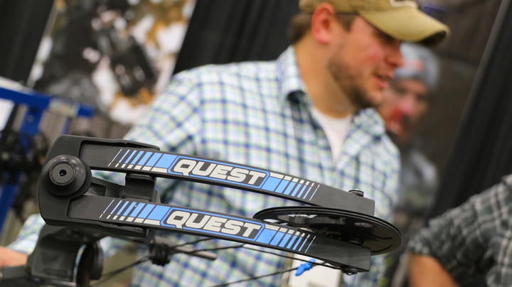2019 ATA Show: New Quest Bow in Realtree Camo Preview Image