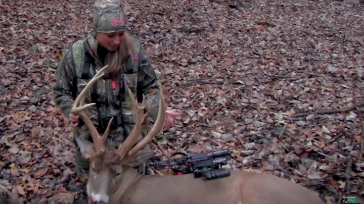Krysten McDaniel Hunts Crazy Non-Typical Buck Preview Image