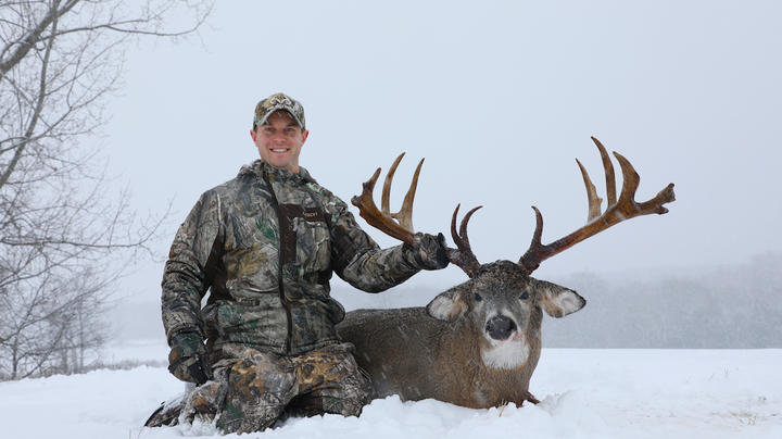 A Real Life 200-Inch Canadian Buck with a Shotgun Preview Image
