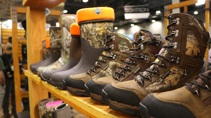 2019 SHOT Show: New Deer Hunting Boots in Realtree Camo Preview Image