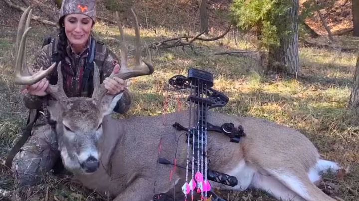 Melissa Bachman Misses and Then Arrows a Giant Deer Preview Image