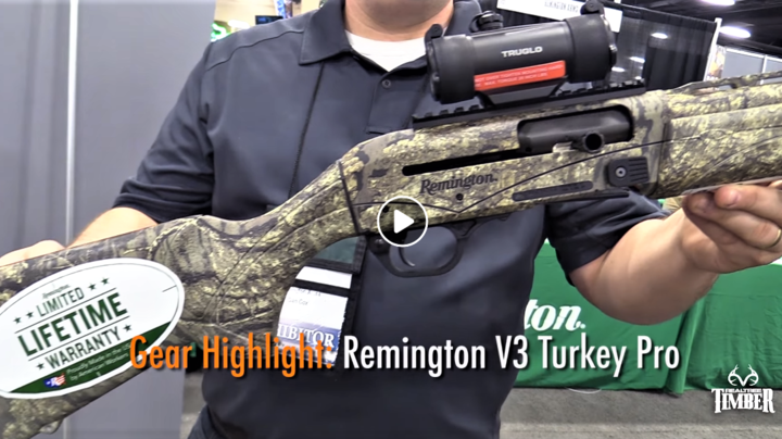 The New Remington V3 Turkey Pro in Realtree Timber Camo Preview Image