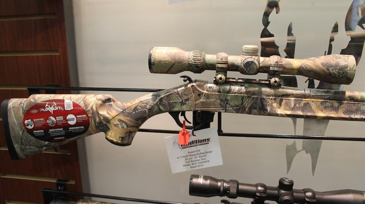 2019 SHOT Show: Traditions Muzzleloaders in Realtree Camo Preview Image