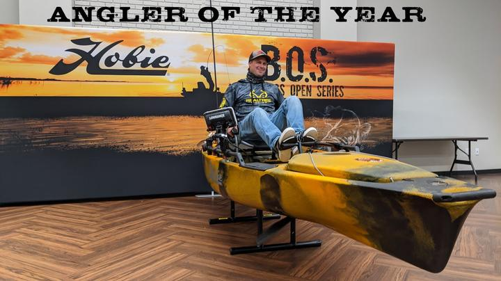 Realtree Fishing Pro Staffer Drew Gregory Wins HOBIE B.O.S. Angler of the Year Title Preview Image