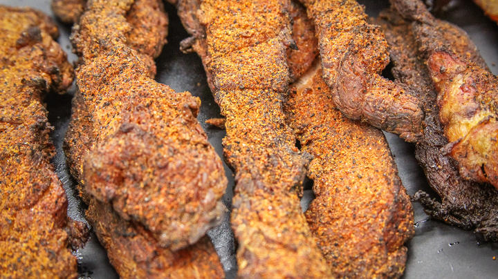 Smoked Catfish Belly Jerky Preview Image