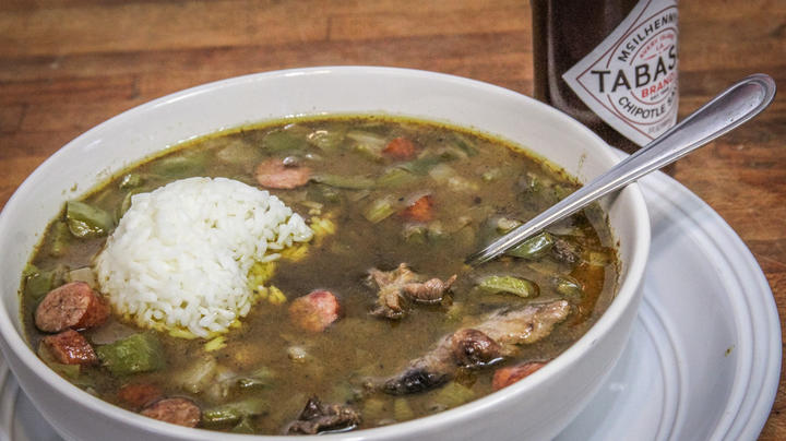 Duck and Sausage Gumbo Preview Image