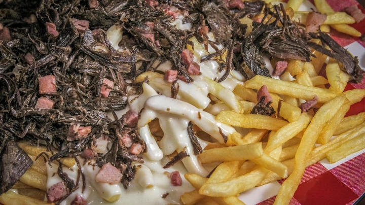 Pulled Duck and Country Ham Cheese Fries Preview Image