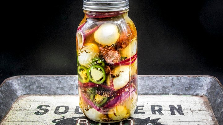 Pickled Egg and Sausage Snack Preview Image