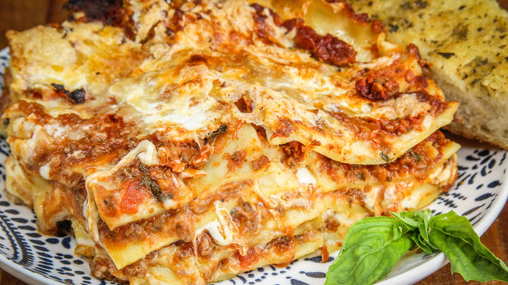 Traditional Italian Lasagna with Ground Elk Meat Sauce Preview Image
