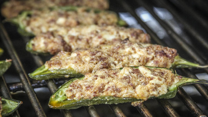Chorizo and Cheese Stuffed Jalapeno Peppers Preview Image