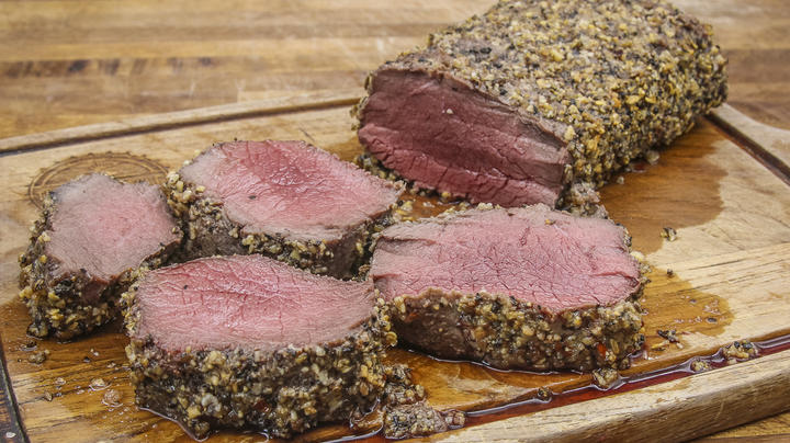 Backstrap with Mayonnaise and Montreal Steak Seasoning Preview Image