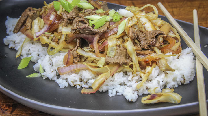 Cattail Stalk and Venison Stir Fry Preview Image