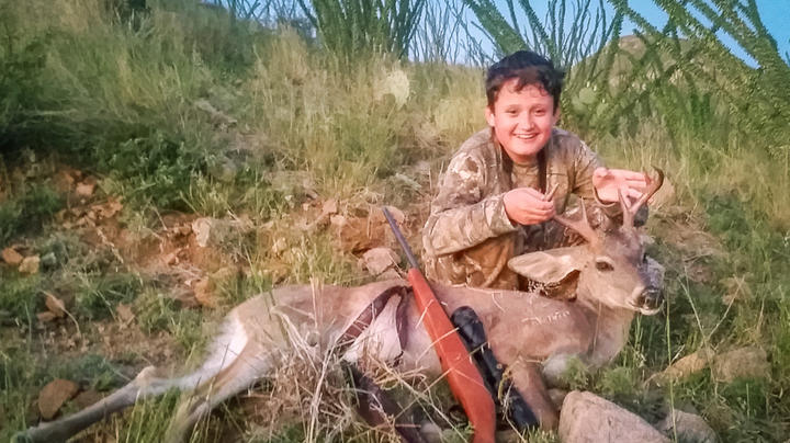 A Father, a Son, and a First Coues Deer Preview Image