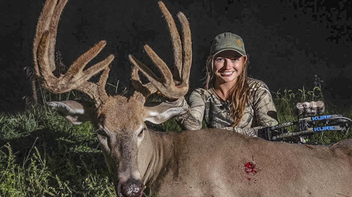 Hannah Barron's Biggest Buck Yet Preview Image
