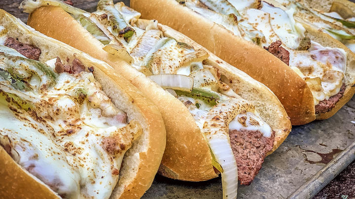 Ol' Bart Likes Cubed Elk Philly Cheese Steak Sandwiches Preview Image