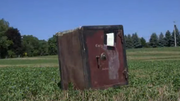 Who Left a Mysterious Safe in a Farmer's Field? Preview Image