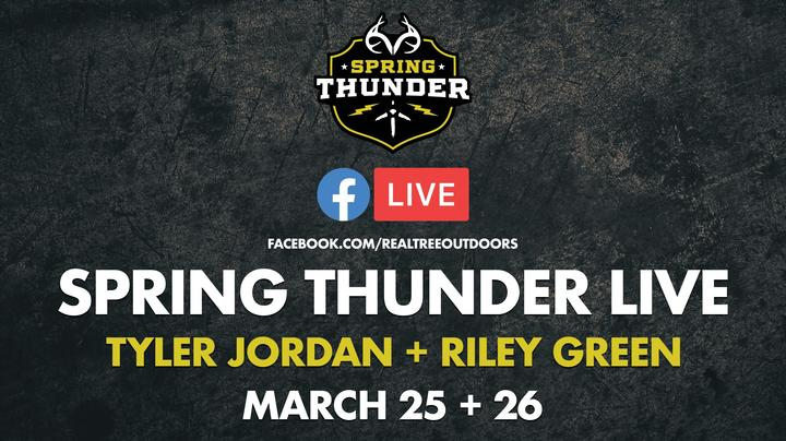Watch and Participate in Realtree 365's Spring Thunder Facebook Broadcast  Preview Image