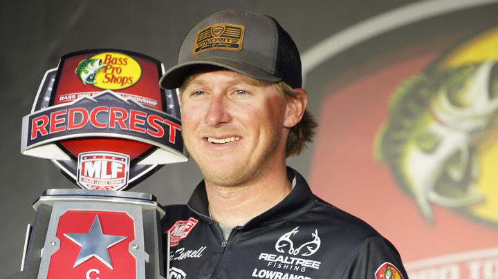 Realtree Fishing Pro Dustin Connell Wins REDCREST 2021 Preview Image