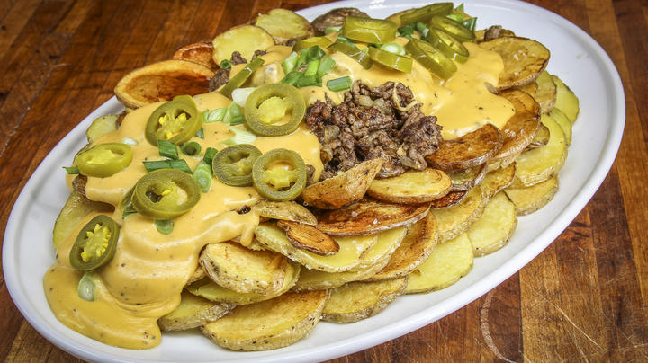 Loaded Beer Cheese and Venison Fried Potatoes Preview Image