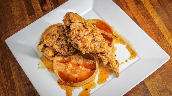 Spicy Fried Rabbit with Cajun Honey Drizzle Preview Image