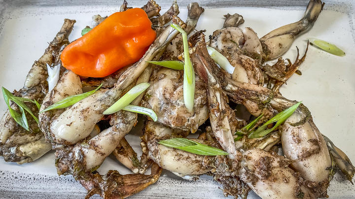 Jamaican Jerk Grilled Frog Legs Preview Image