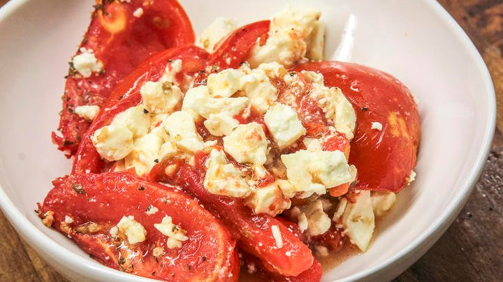 Grilled Tomatoes with Feta Cheese Preview Image