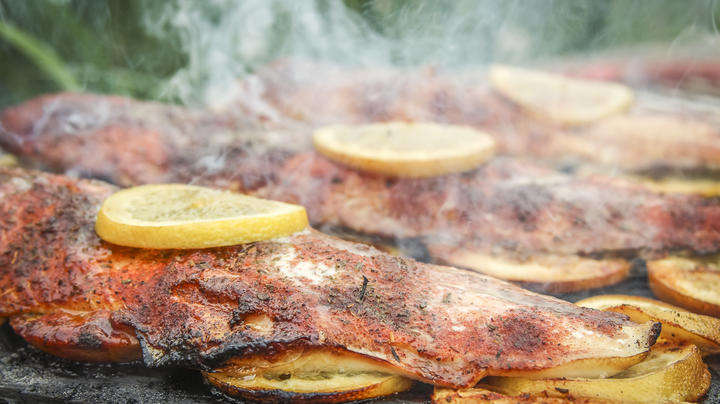 Grilled Blackened Honey Lake Trout Preview Image