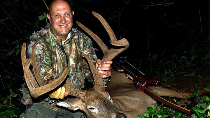 Giant Kentucky Velvet Buck with a Longbow Preview Image