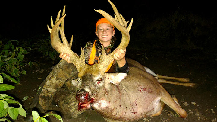 12-Year-Old Nails 211-Inch Buck Preview Image