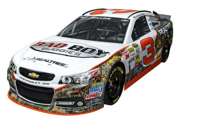 Realtree and Bad Boy Buggies to Partner with Austin Dillon and Richard Childress Racing's No. 3 NASCAR Sprint Cup Series Program at Bristol Motor Speedway Preview Image