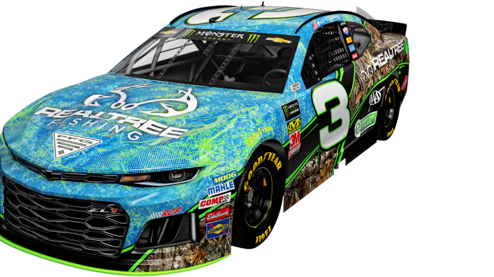 See No. 3 Car Decked Out in Realtree Fishing and EDGE Camo Patterns Preview Image