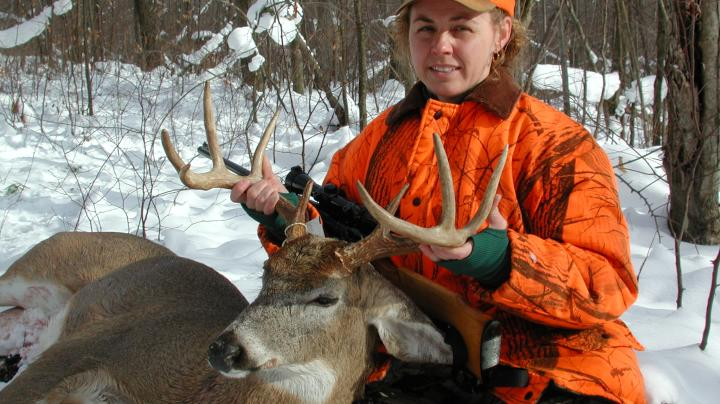 First Buck Friday: Pennsylvania's Becky Hoffman Preview Image