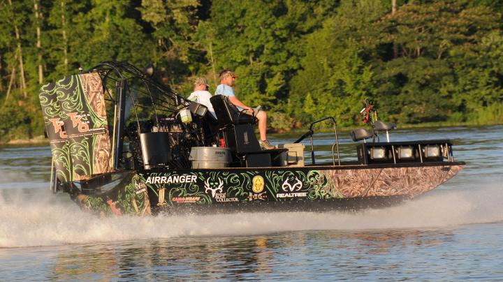 The Coolest Airboat Ever Preview Image