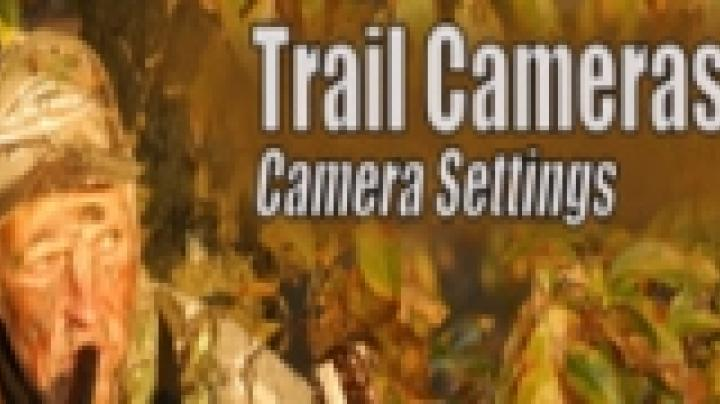 Trail camera settings Preview Image