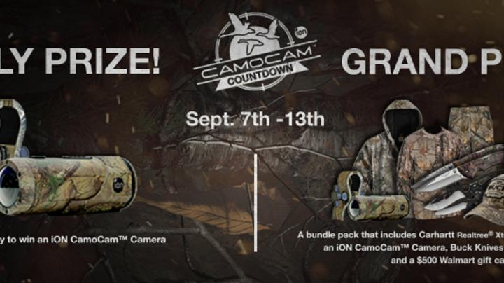 Win Prizes in the CamoCAM Countdown Giveaway Preview Image