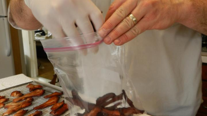 Video: Cooking Wild Turkey--Step 3, Ready for Eating Preview Image